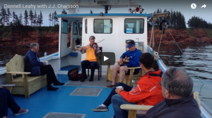 A Day on the Boat with Donnell Leahy