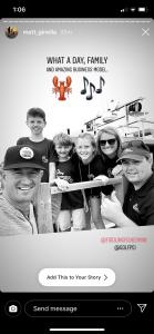 Instagram Story, Matt Ginella