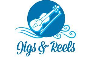 Jigs & Reels logo